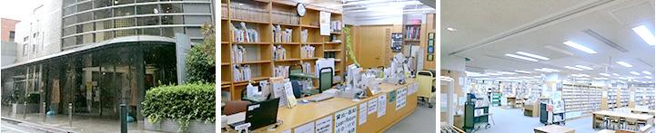 画像:大久保図書館